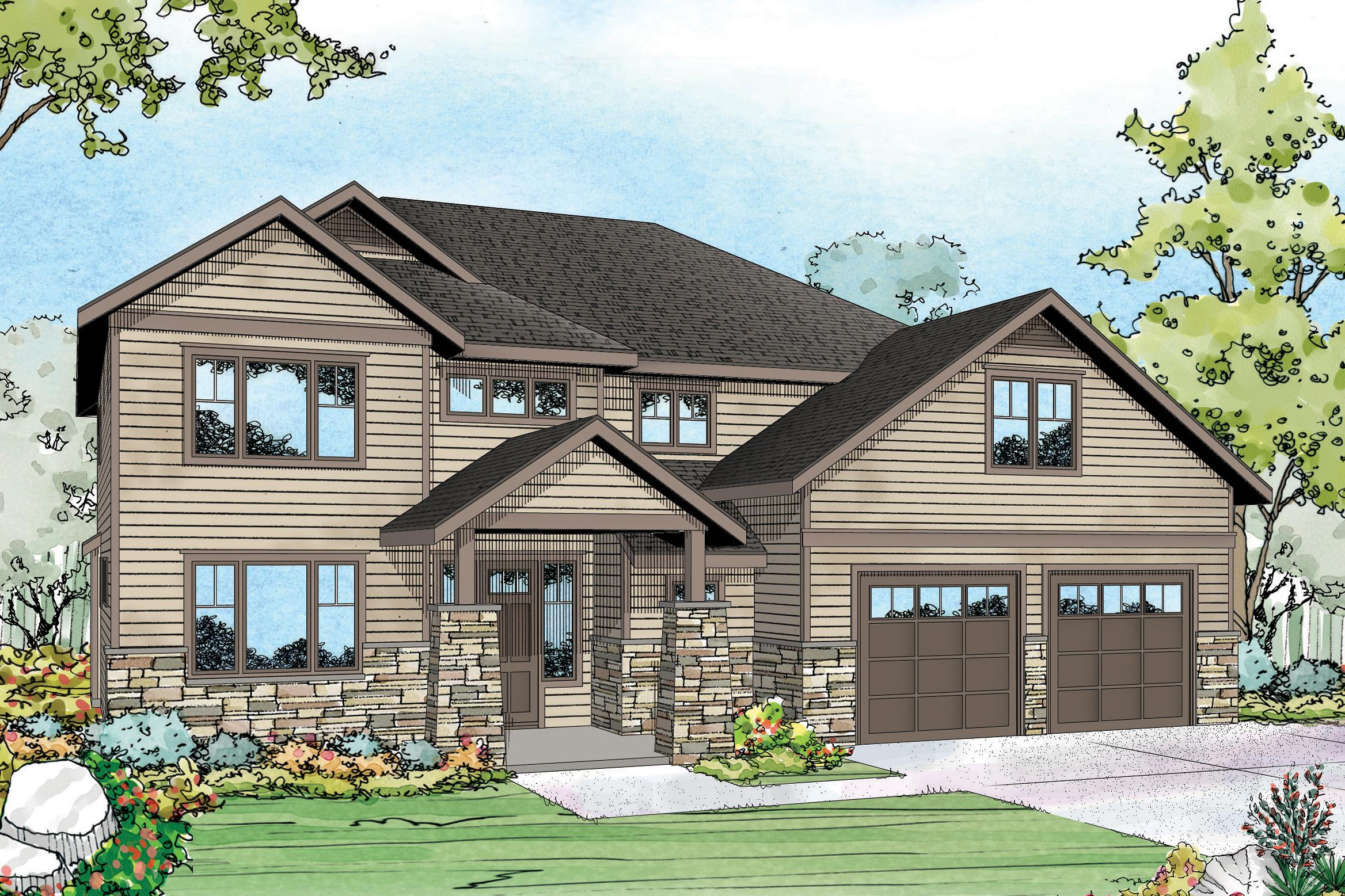 Craftsman House Plans Forest Grove 30 954 Associated