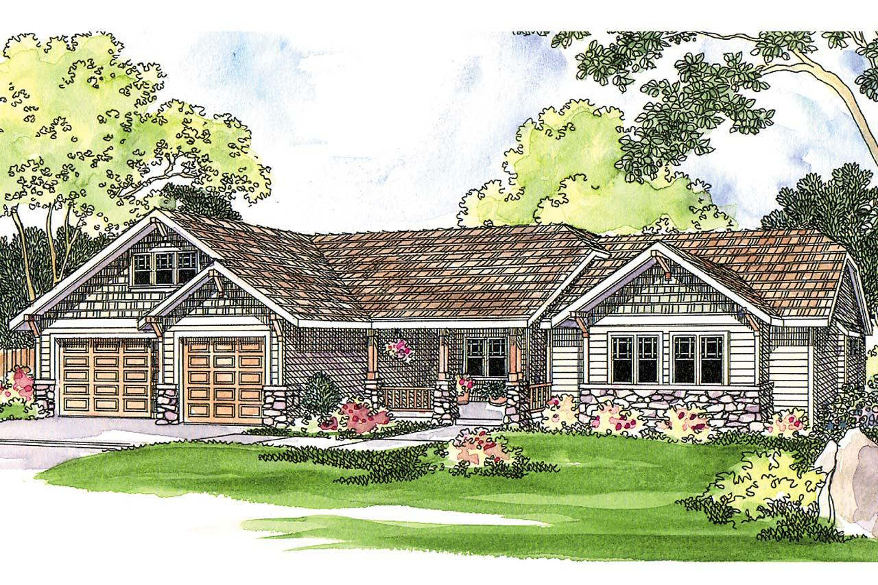 Craftsman House Plans - Pinedale 30-228 - Associated Designs