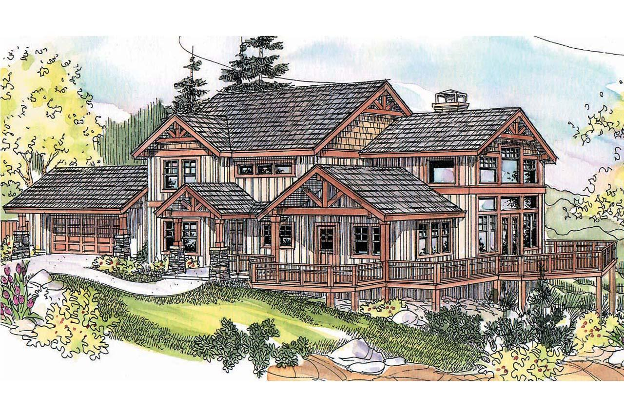 14 Cool American Craftsman House Plans Building Plans