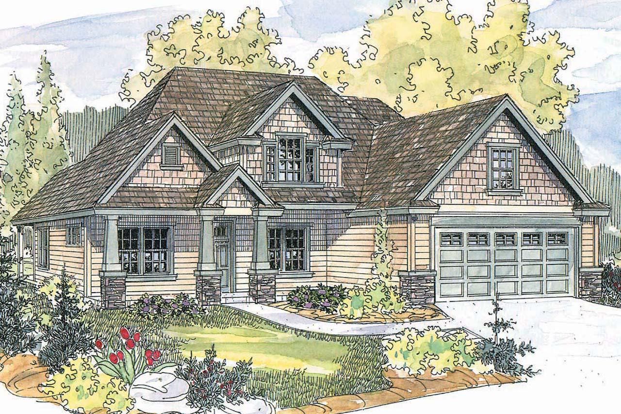 Craftsman House Plans Wilsonville 30 517 Associated