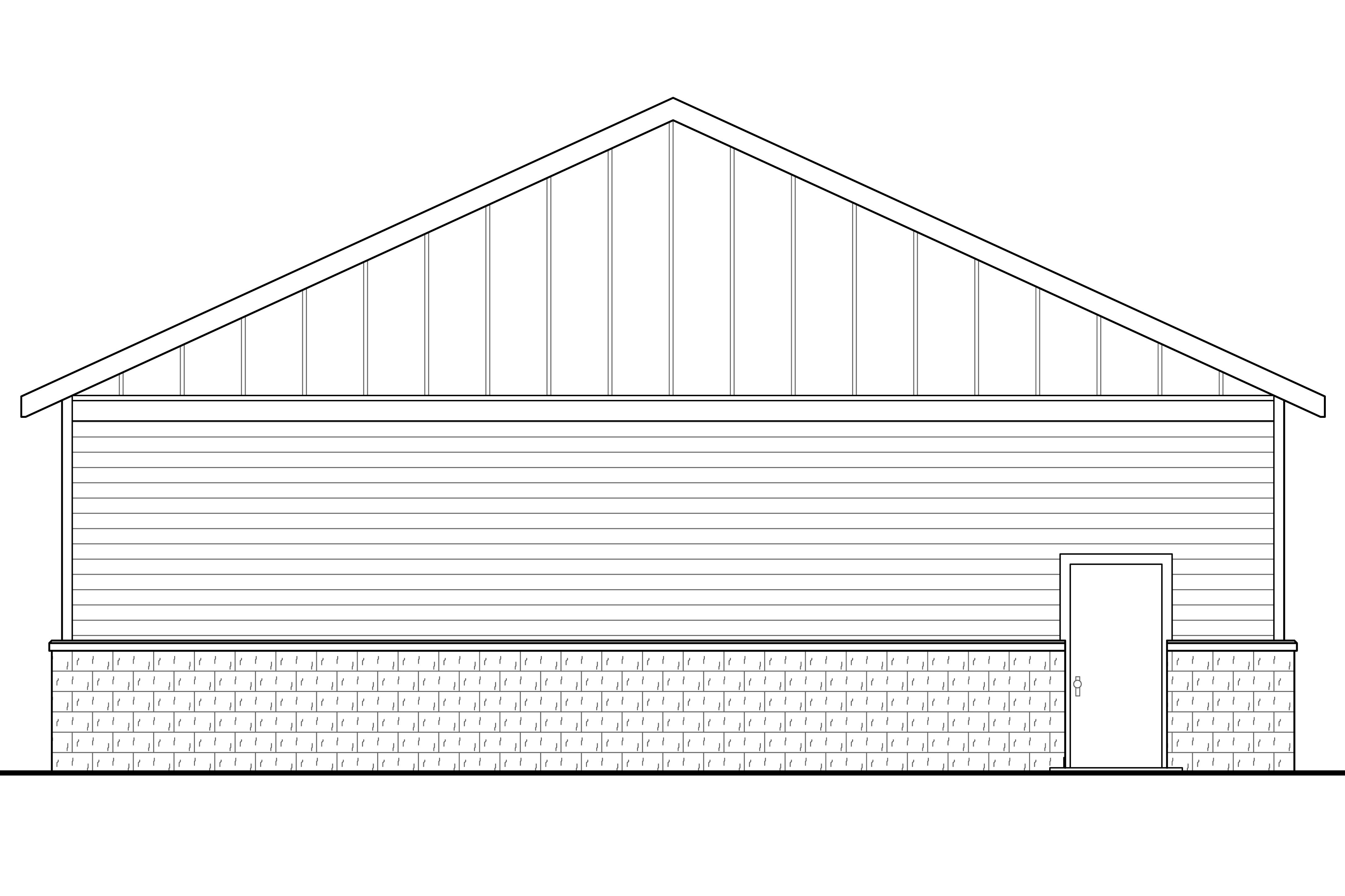 Traditional House Plans - RV Garage 20-131 - Associated Designs
