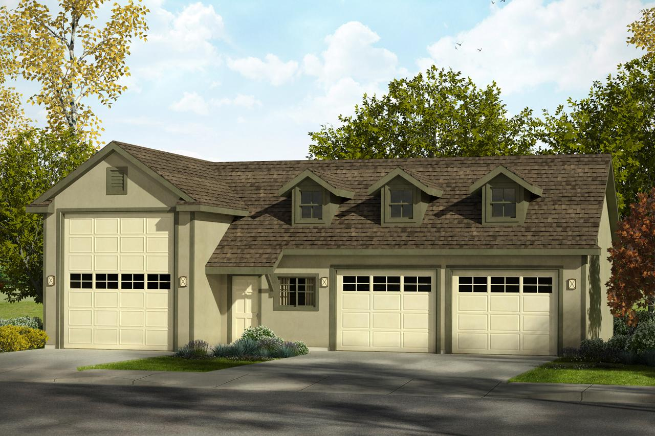 Southwest house plans rv garage 20 169 associated designs for Rv with a garage