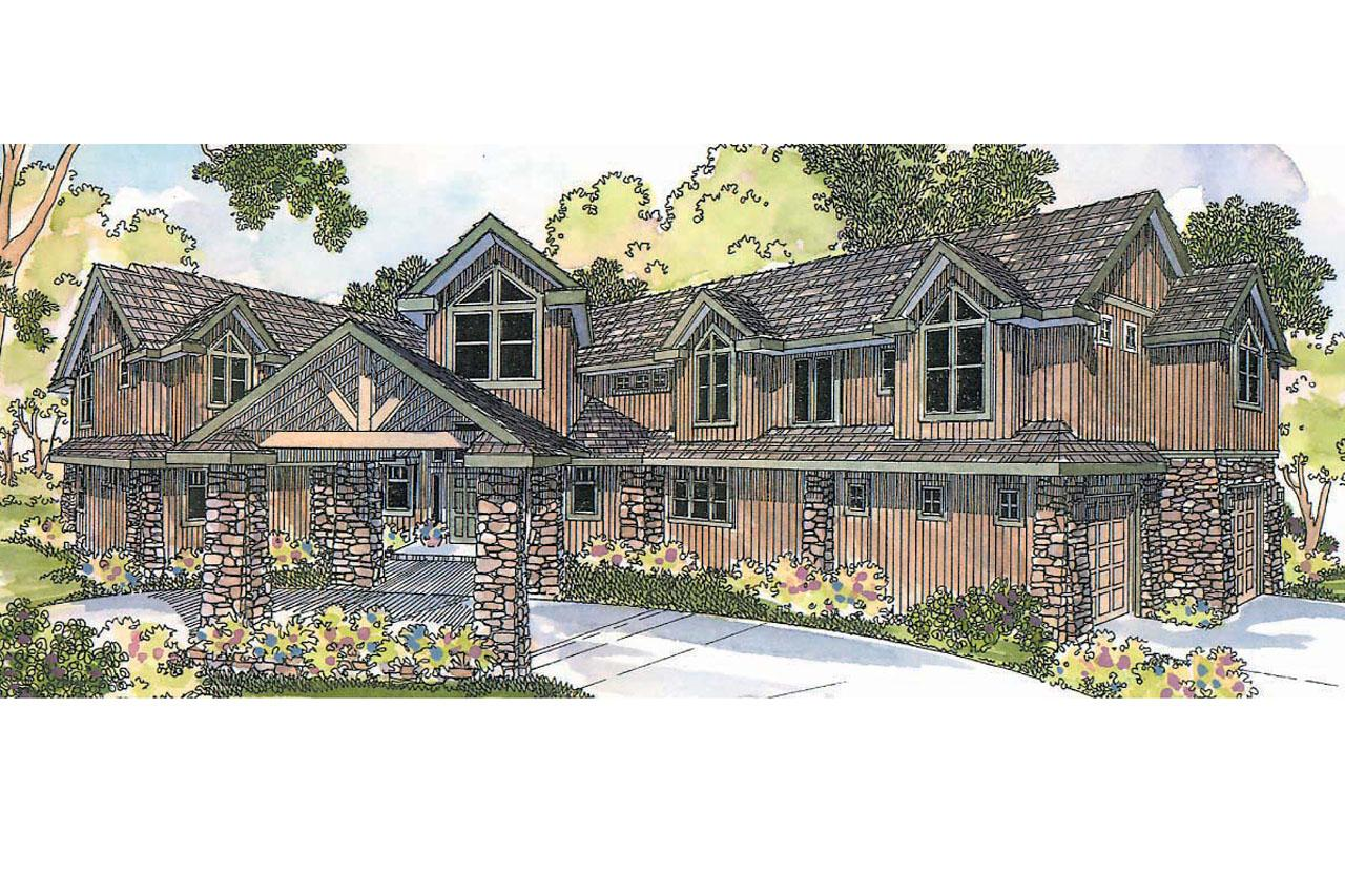 Lodge style house plans bentonville 30 275 associated for Lodge style house plans