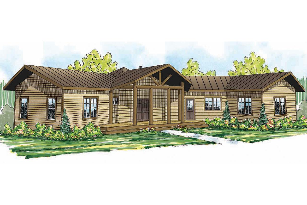 Lodge Style House Plans Blue Creek 10 564 Associated
