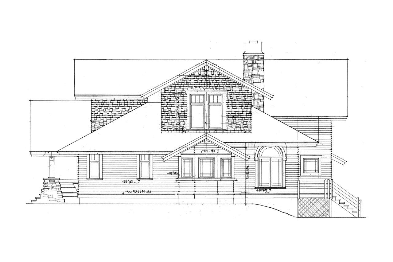 Craftsman house plans huntington 42 017 associated designs for Lodge type house plans