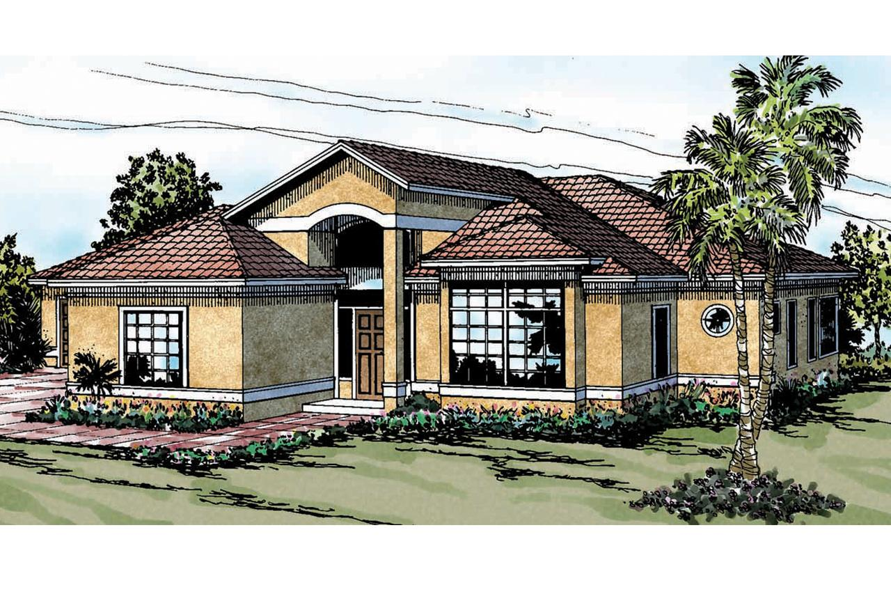 Mediterranean house plans odessa 11 021 associated designs for Mediterranean house plans