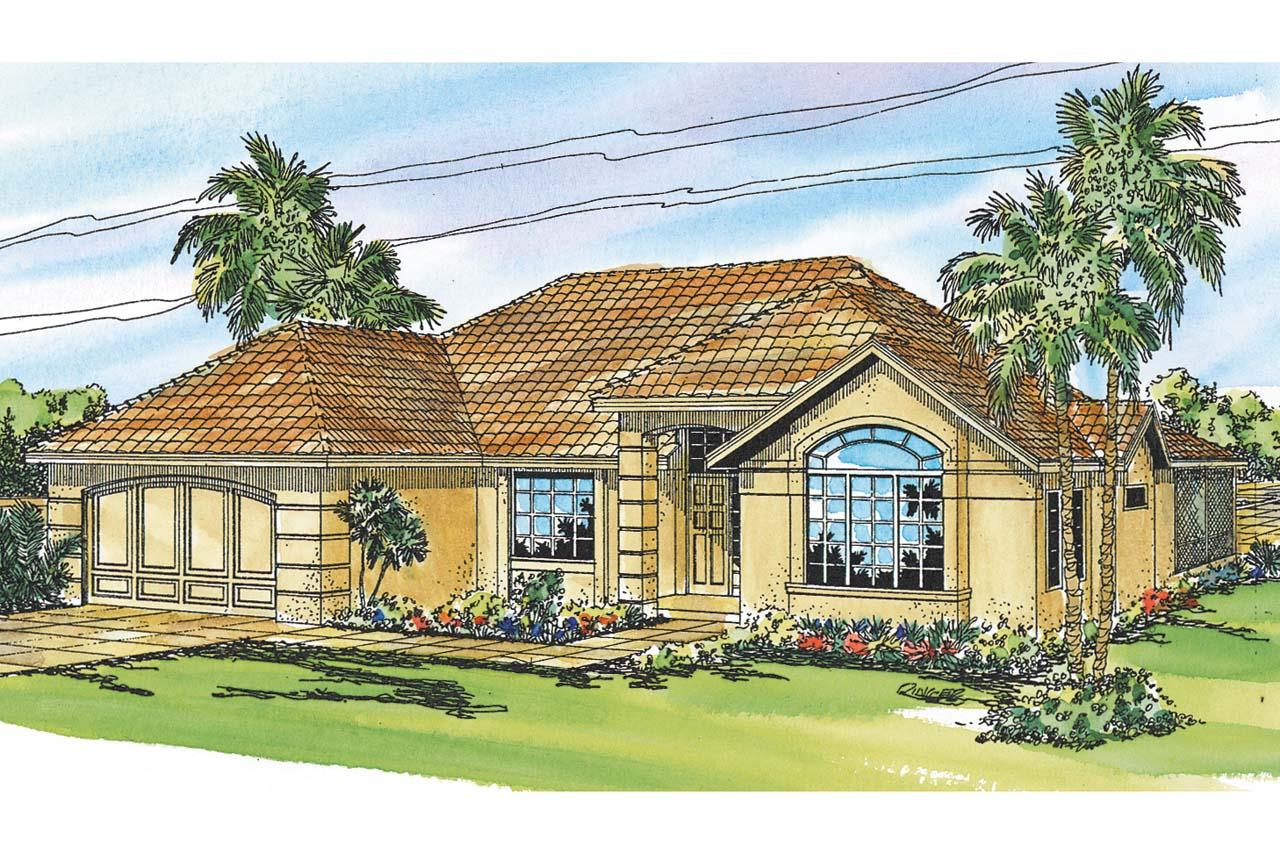 Mediterranean house plans home design 2015 for Mediterranean style house floor plans