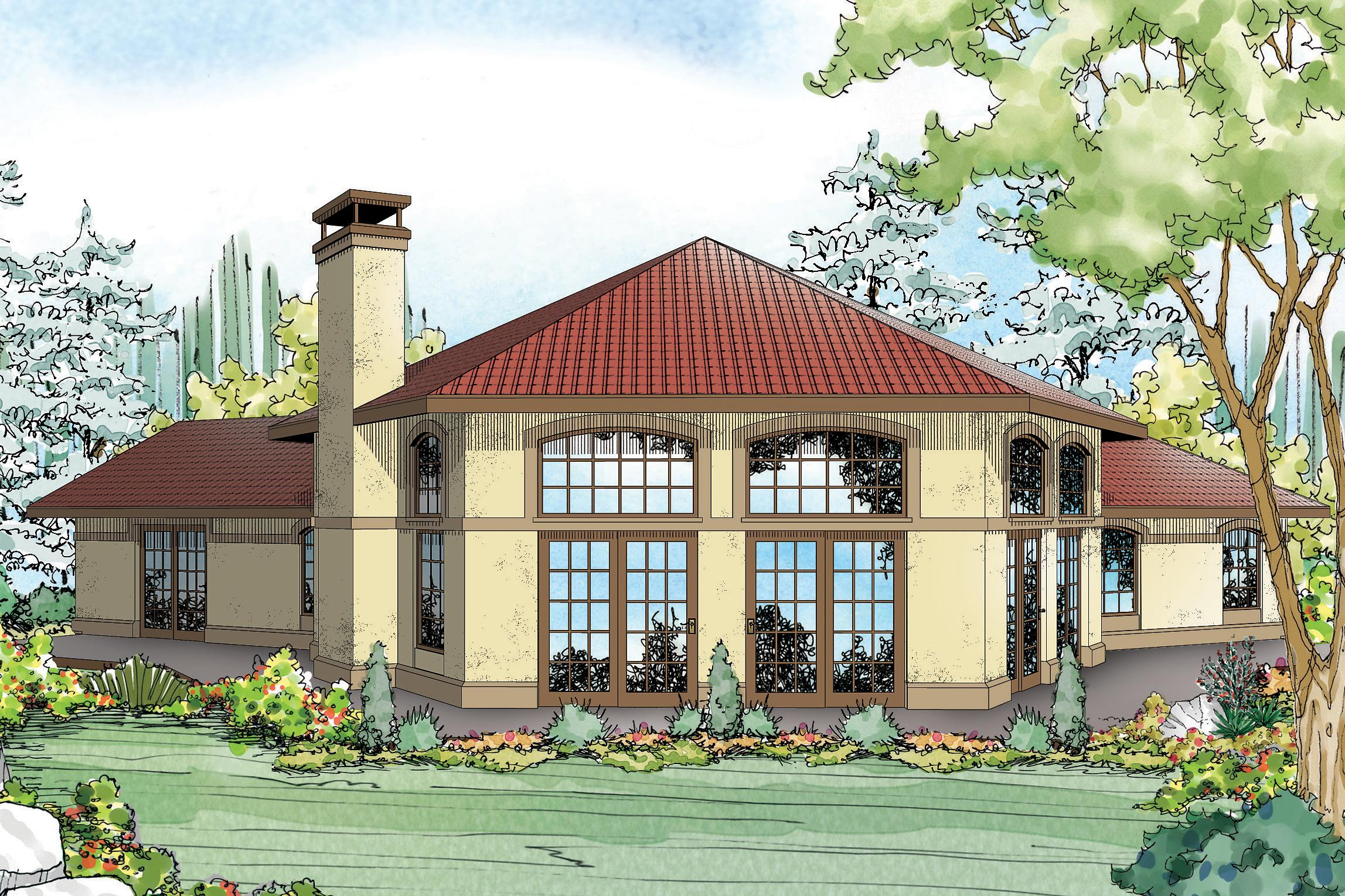 Mediterranean house plans rosabella 11 137 associated for Mediterranean home plans