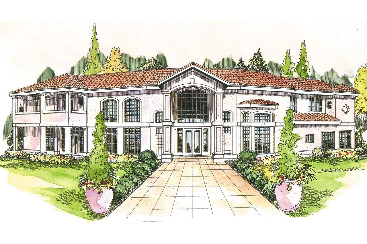 House plans mediterranean style homes modern house for Mediterranean house plans