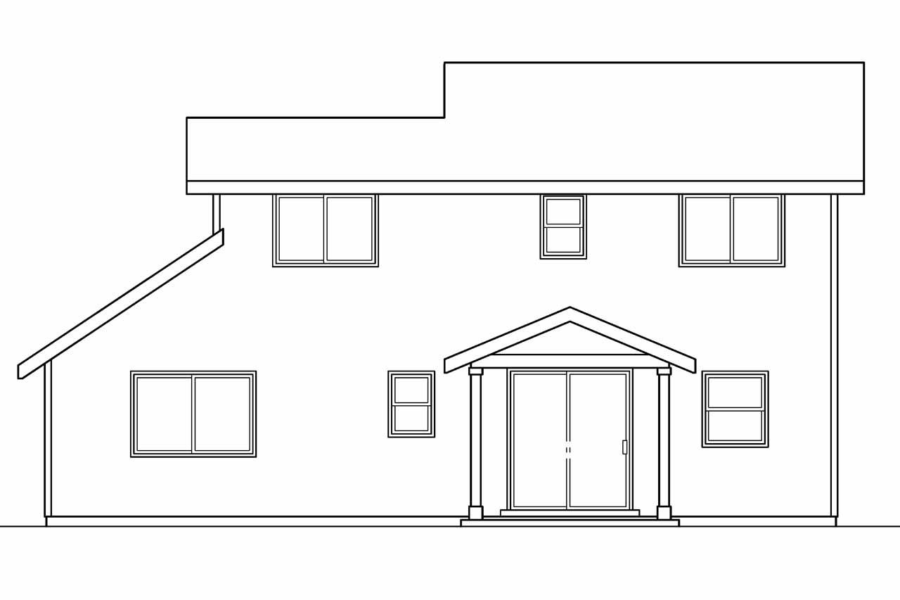 Contemporary House Plans Wethersfield 30 702