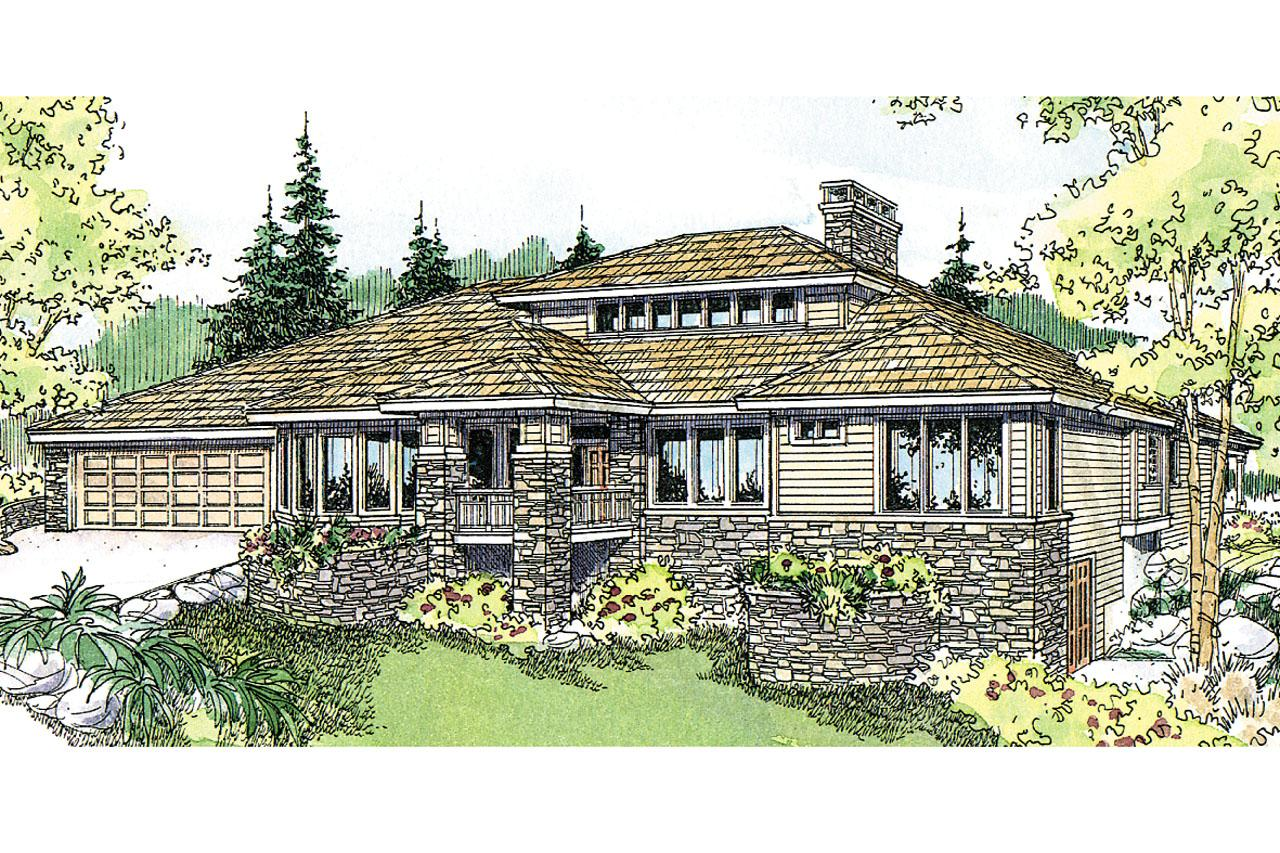Prairie style house plans elmhurst 30 452 associated for Prairie house plans