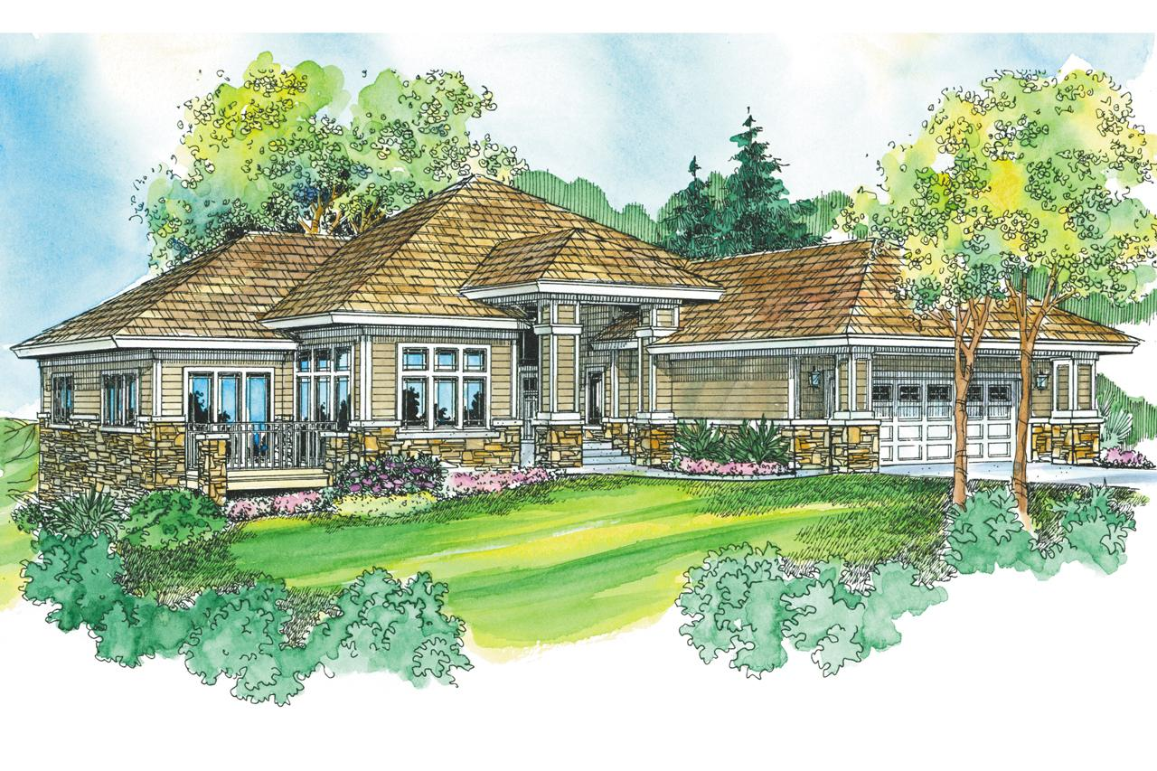 Prairie style house plans meadowbrook 30 659 for Prairie house plans