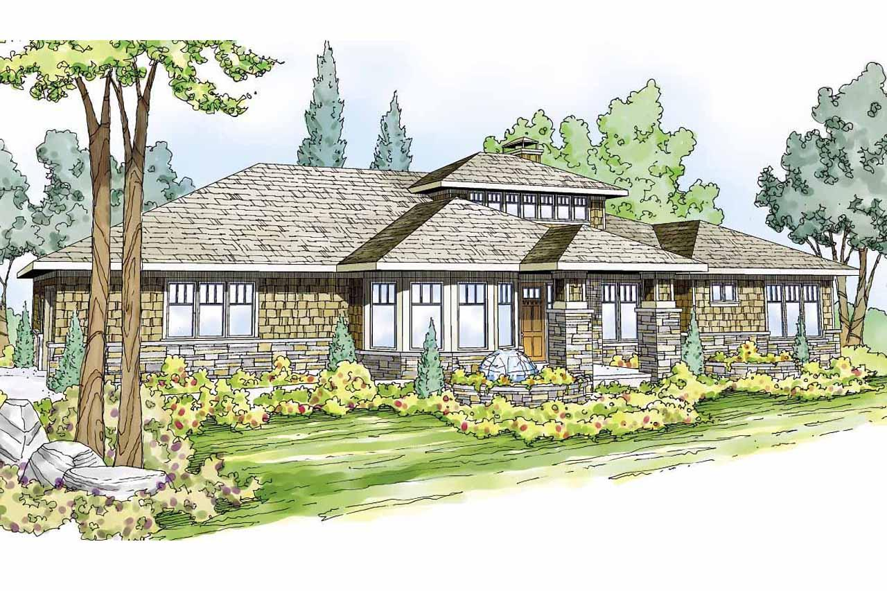 prairie style house plan metolious 30 746 front elevation. Interior Design Ideas. Home Design Ideas