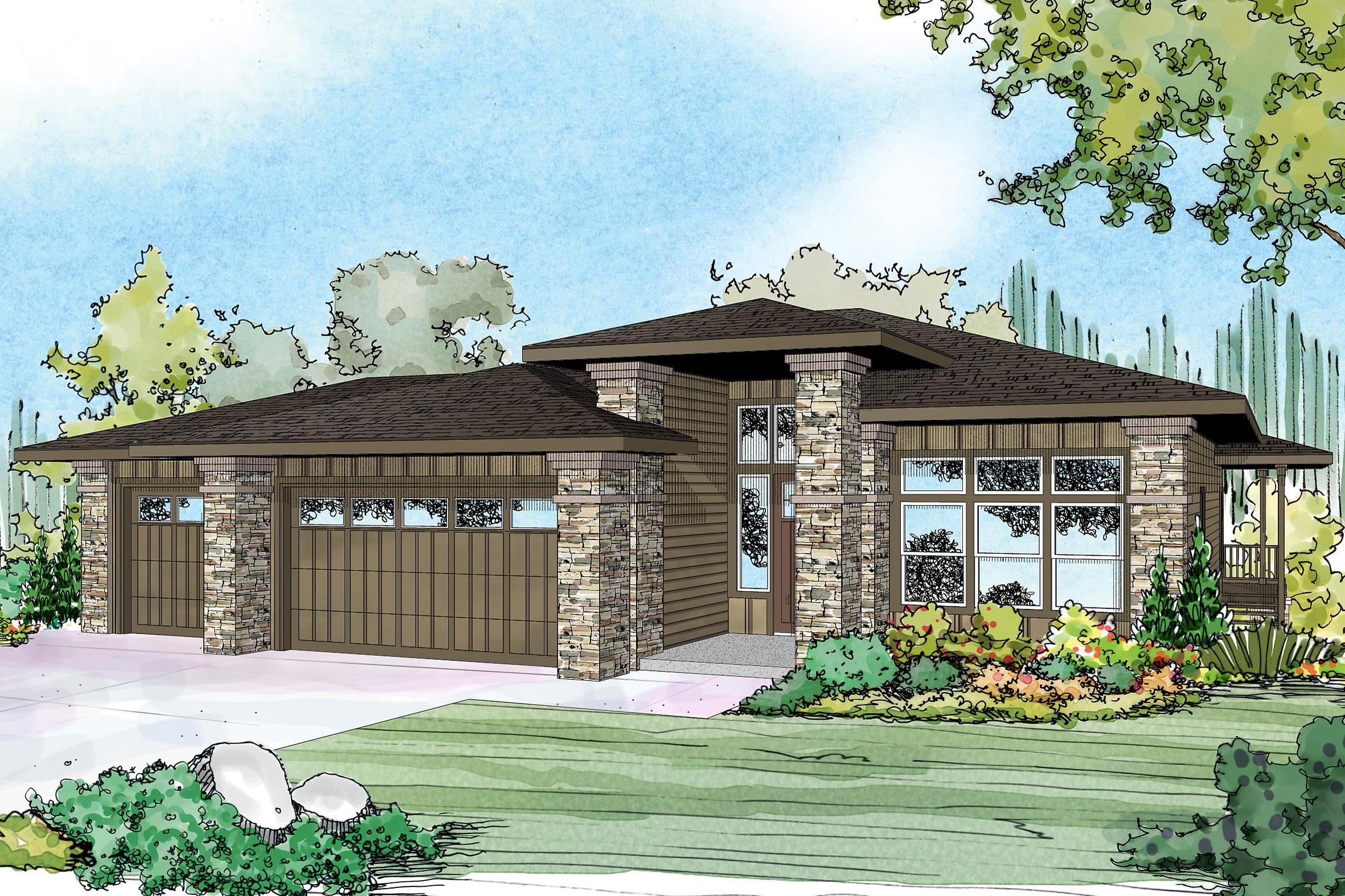 Prairie style house plans hood river 30 947 associated for Prairie style home plans