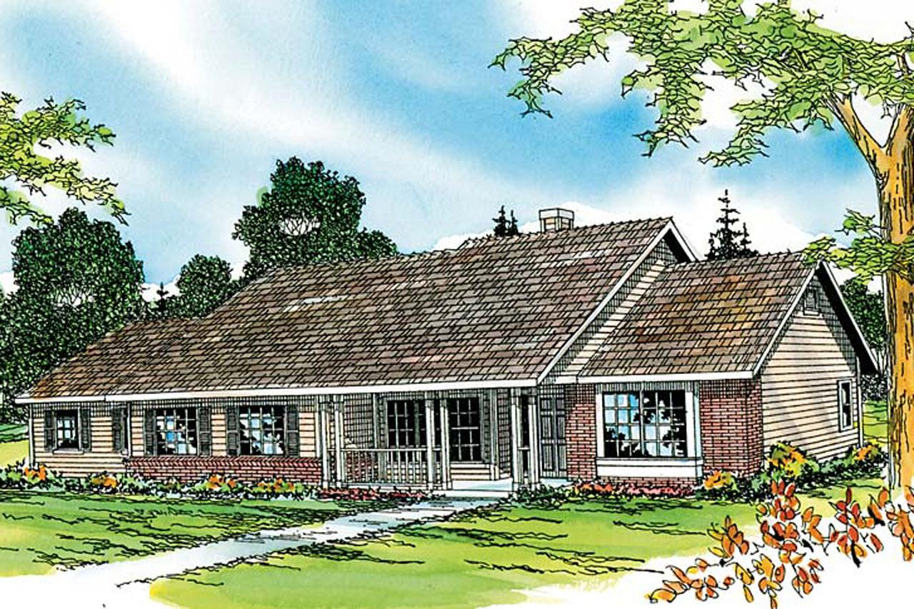 Ranch house plans alpine 30 043 associated designs for Ranch house elevations