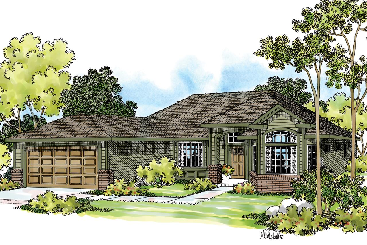 Ranch House Plans Arvada 30 261 Associated Designs
