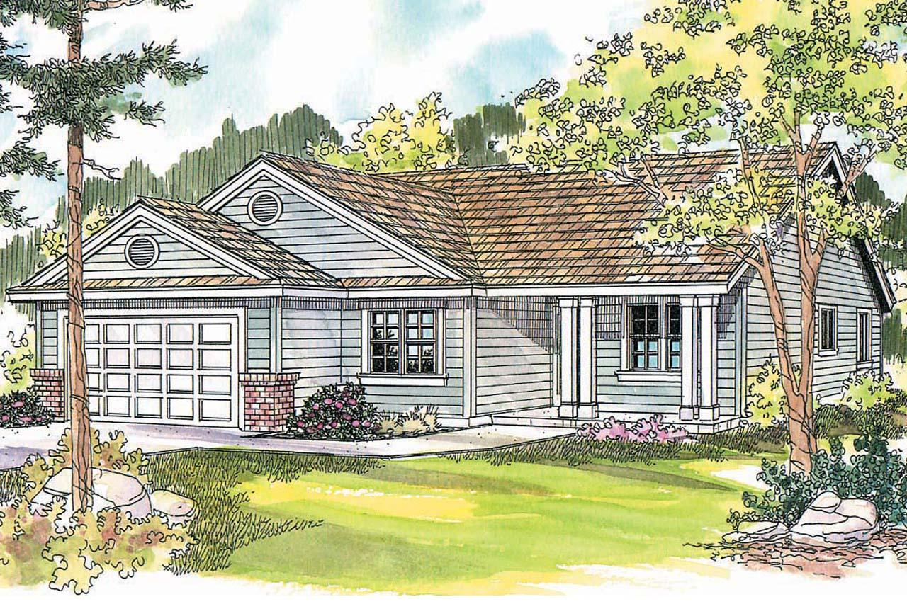 Ranch house plans chapman 30 544 associated designs for Ranch house elevations