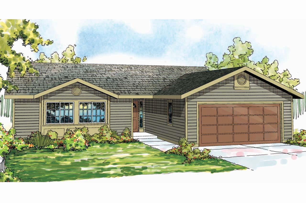 Ranch house plans copperfield 30 801 associated designs for Ranch house elevations