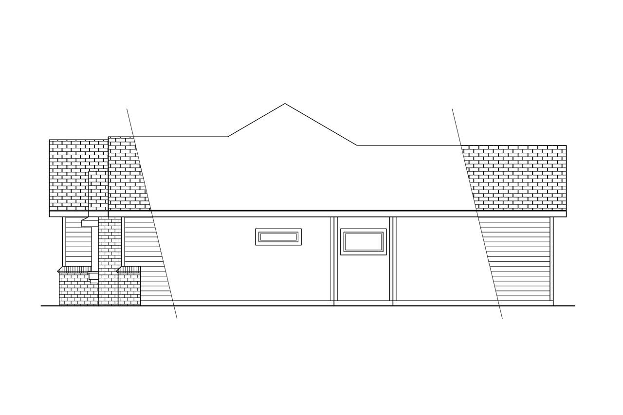 Plan Elevation Profil : Traditional house plans cottonwood associated