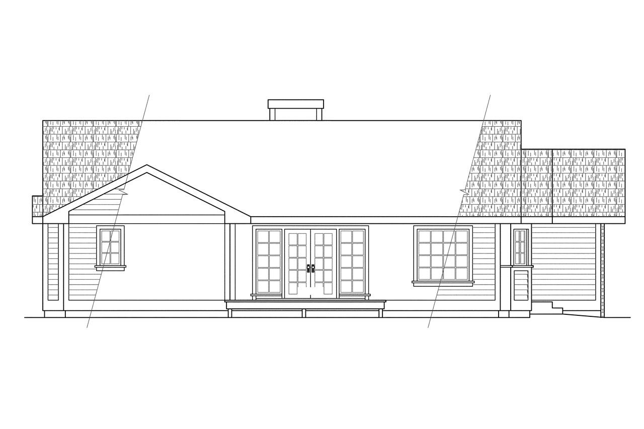 House plans for wide but shallow lots for 4 plex plans narrow lot
