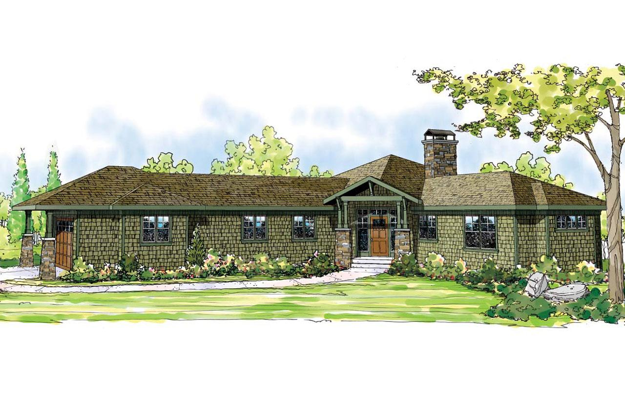 Front Elevation Ranch : Ranch house plans heartview associated designs