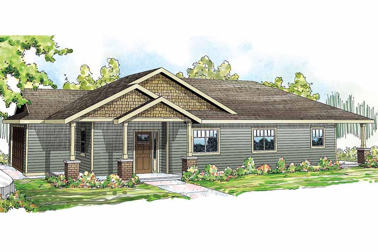Ranch house plans hopewell 30 793 associated designs for Ranch house elevations