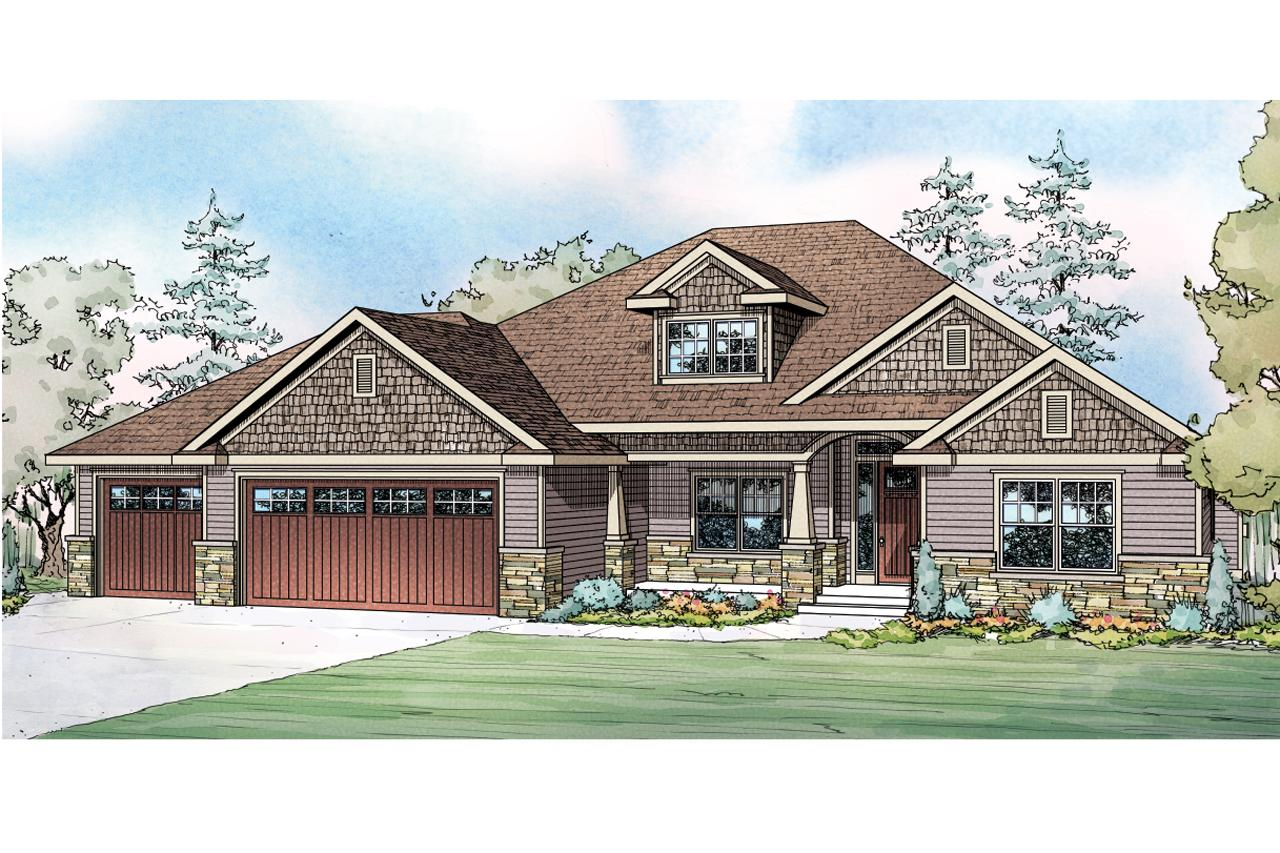 Ranch house plans jamestown 30 827 associated designs for Ranch house elevations
