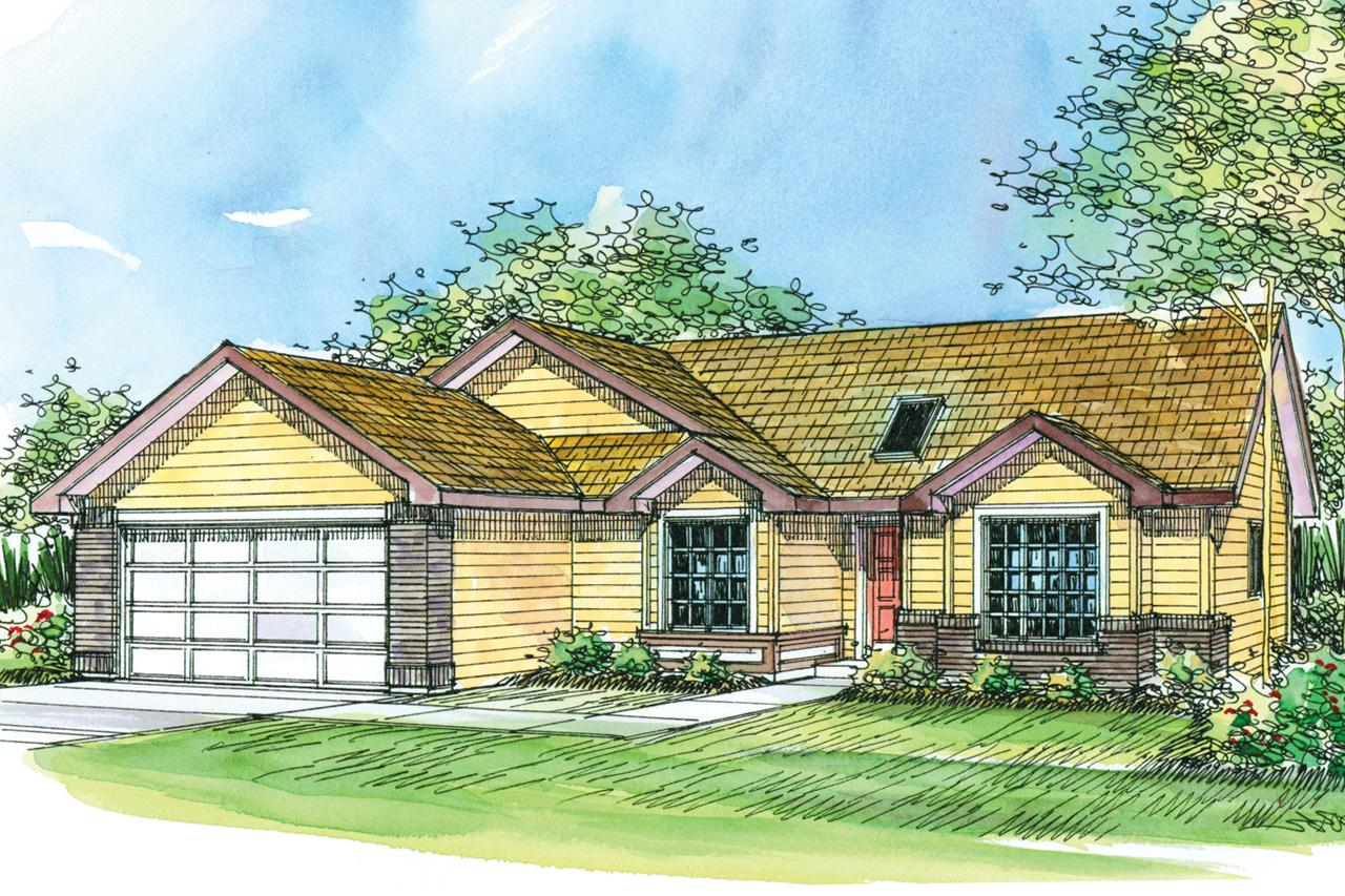 Front Elevation Ranch : Ranch house plans lamont associated designs
