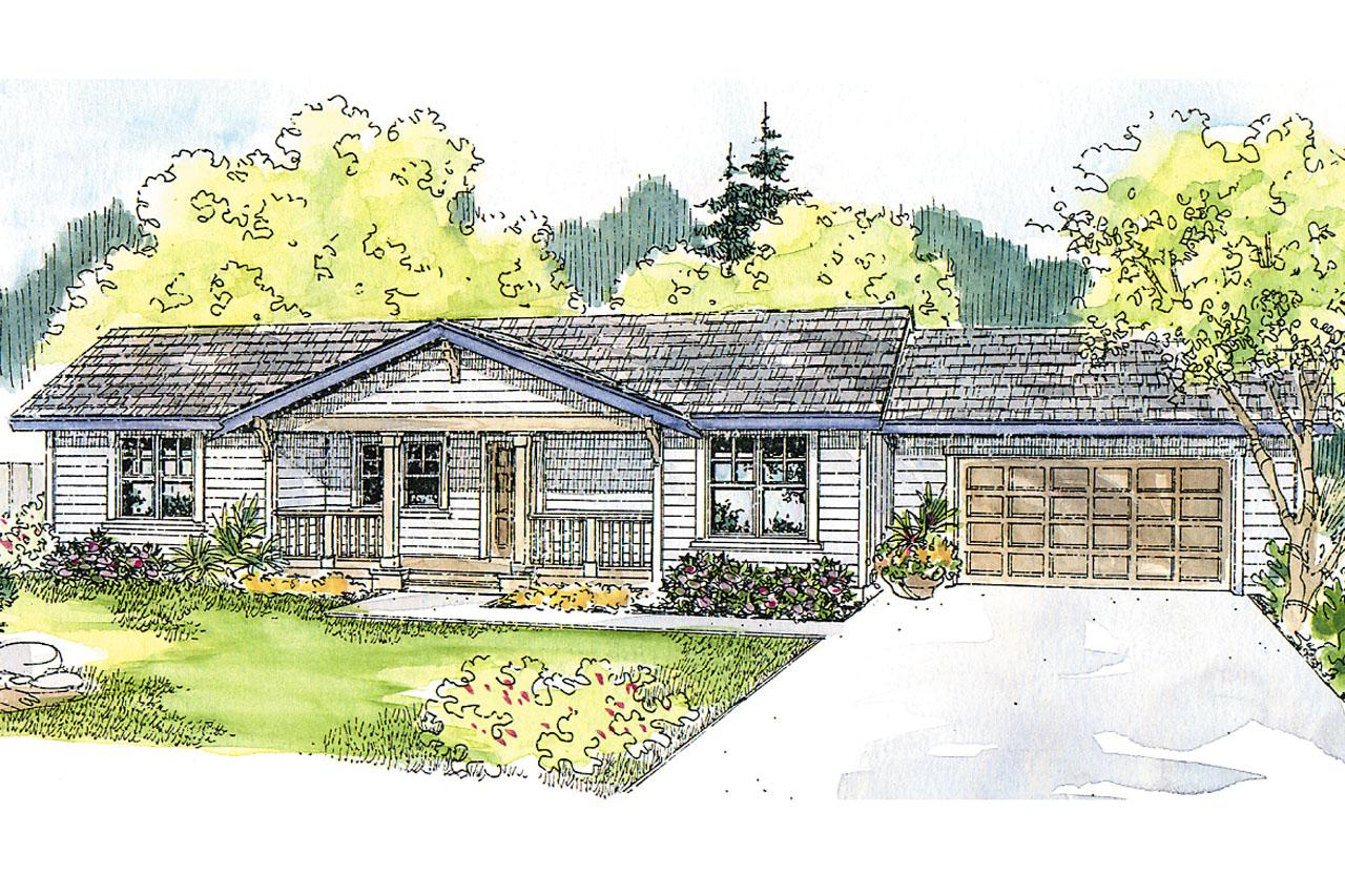 Ranch house plans mackay 30 459 associated designs for Ranch house elevations