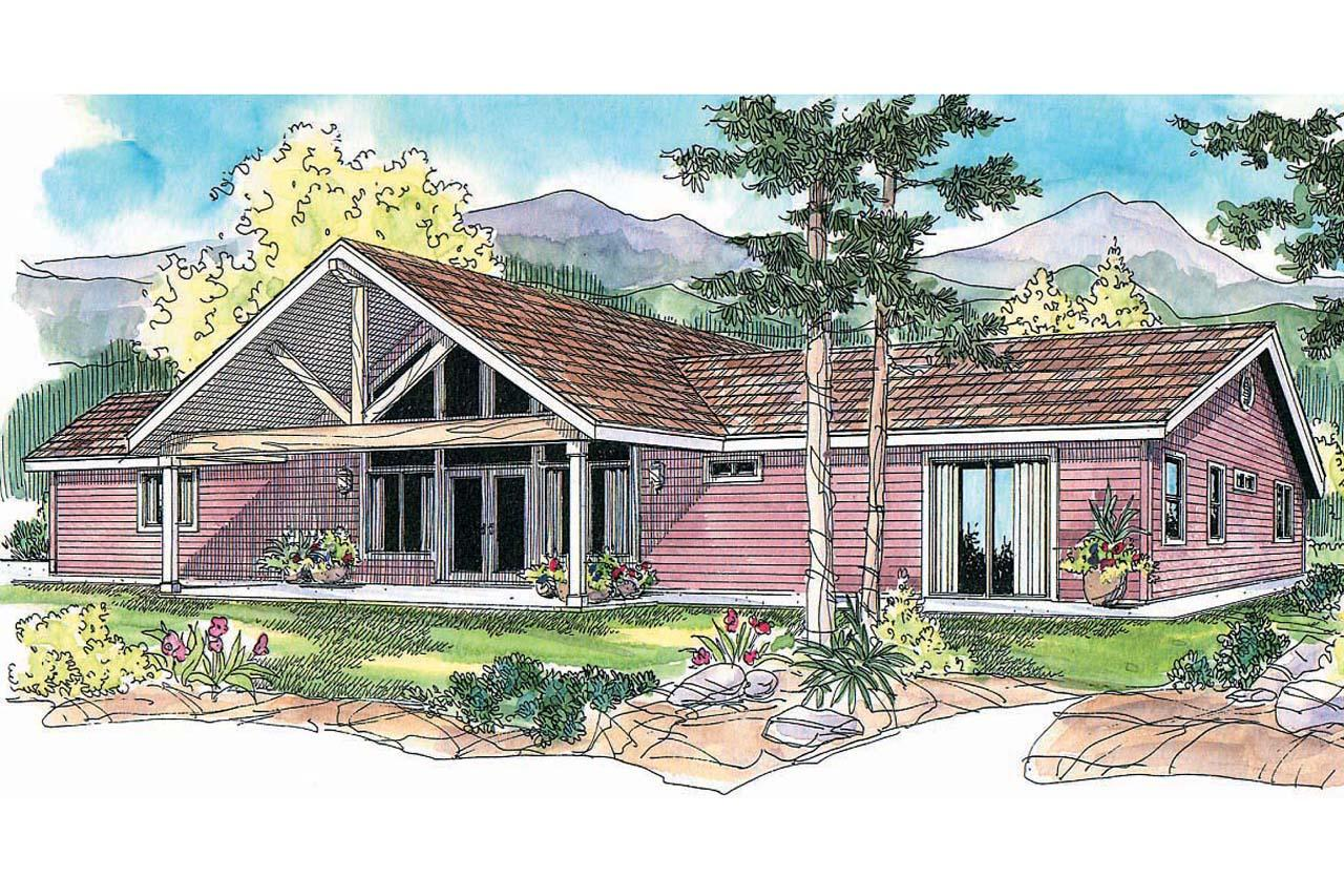 Ranch house plans ottawa 30 601 associated designs for Ranch house elevations