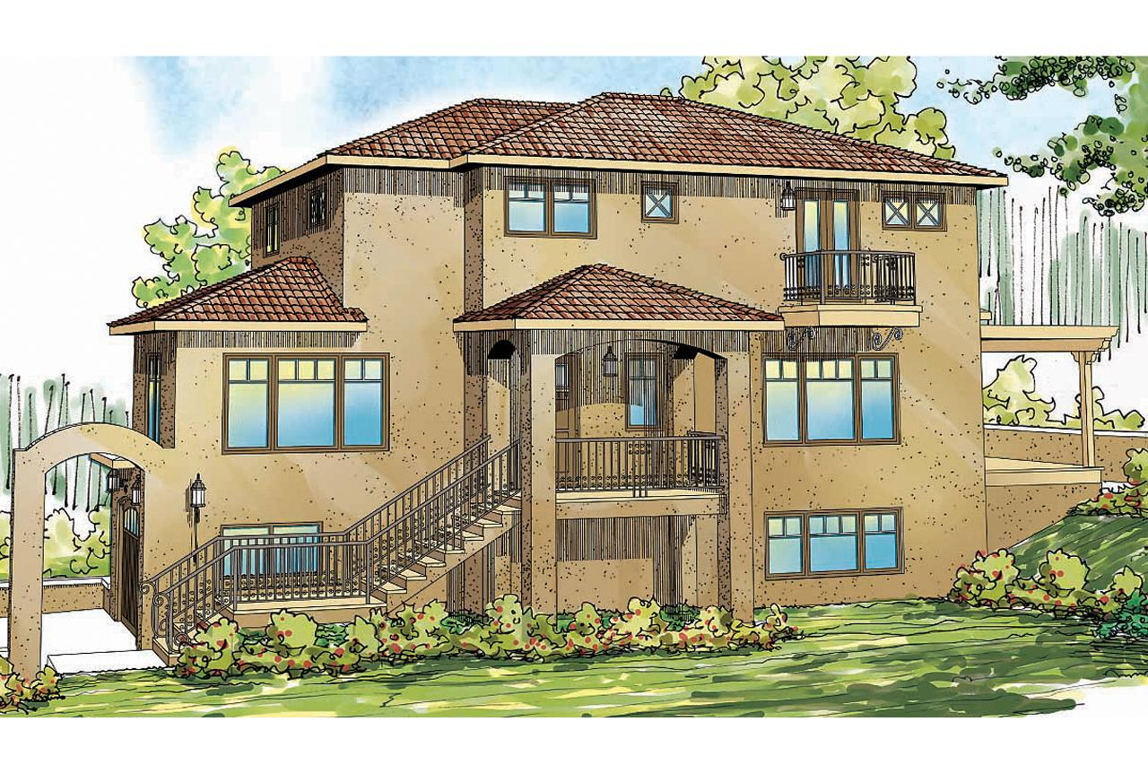 Southwest house plans santa rosa 30 800 associated designs for Southwest style home designs