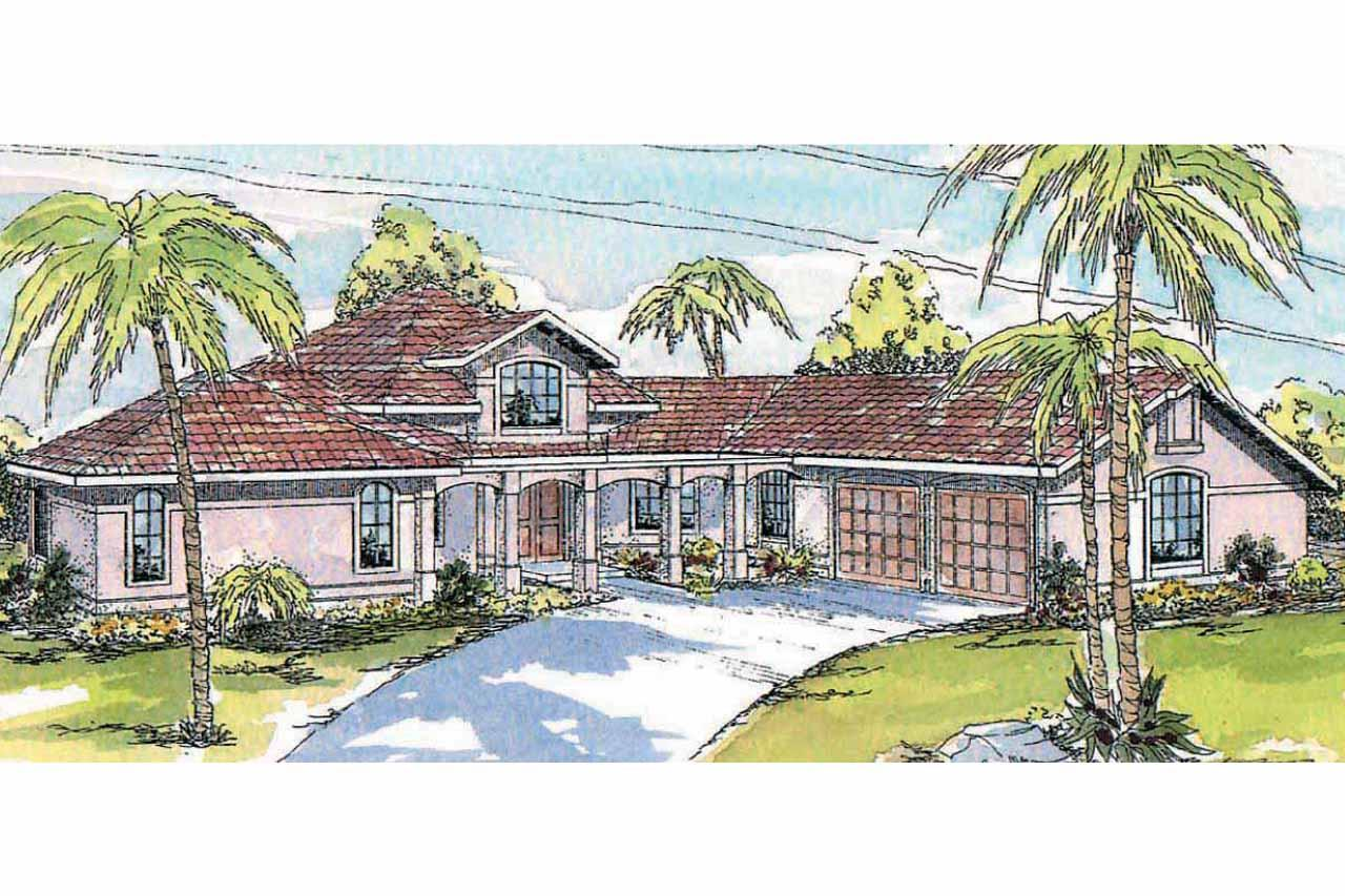 Southwest house plans solano 11 005 associated designs for Southwest home plans