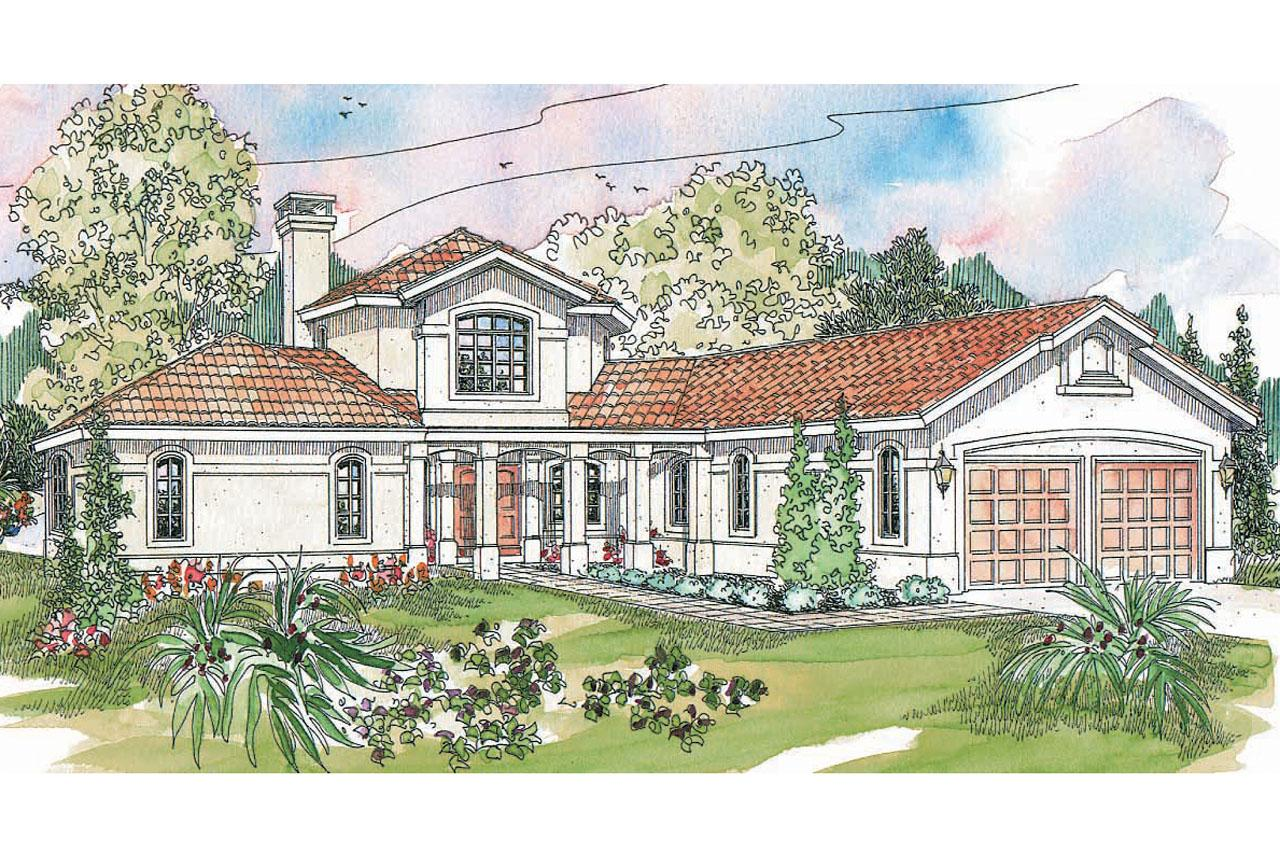 Small spanish style house plans perfect spanish style for Spanish style ranch house plans