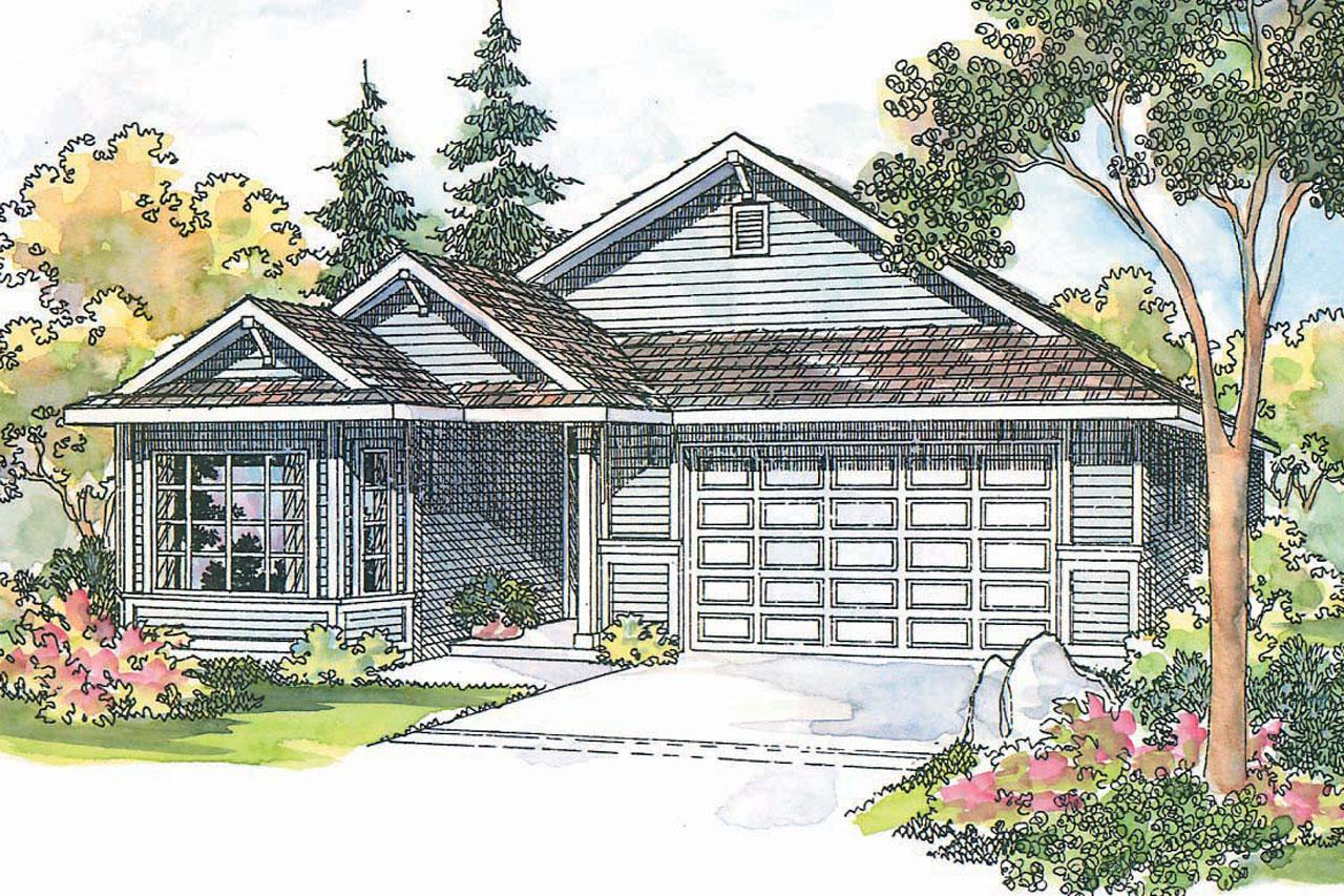 Traditional House Front Elevation : Traditional house plans ashland associated designs