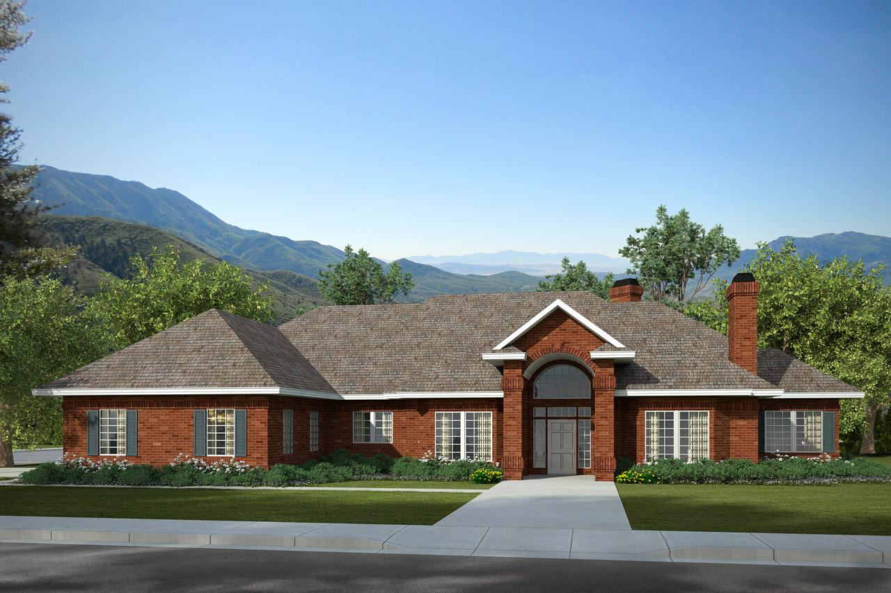 Classic House Plans - Brentwood 30-007 - Associated Designs