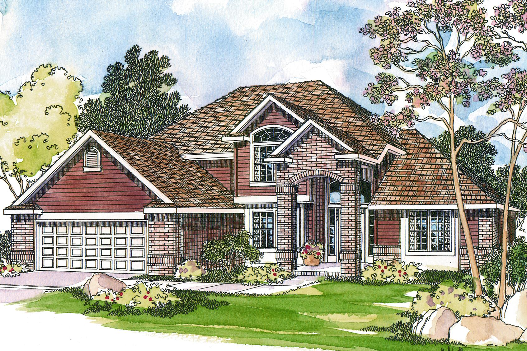 Traditional House Plans Coleridge 30 251 Associated