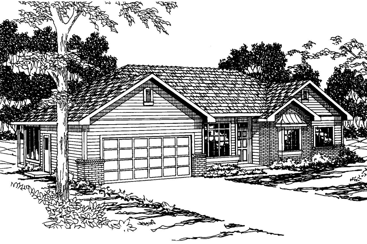 Traditional House Plans Cottonwood 30 151 Associated Designs