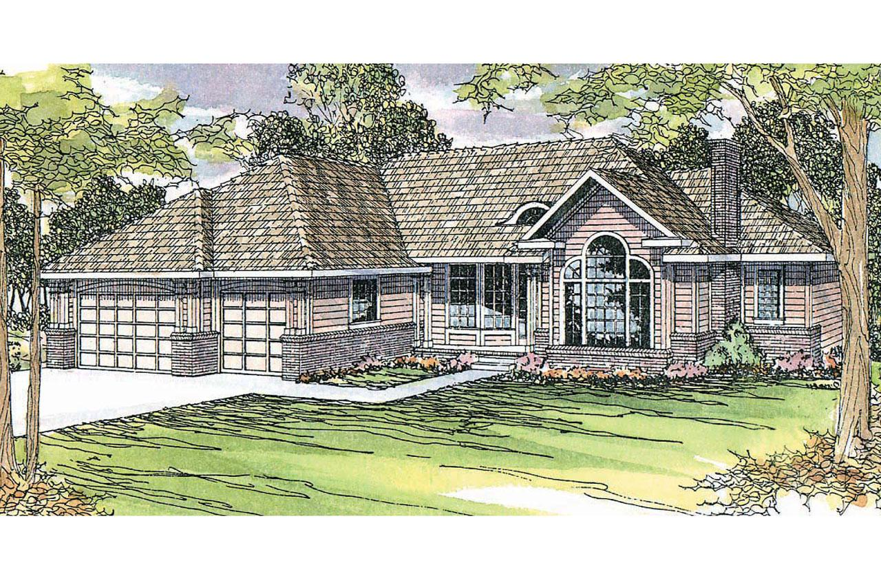 Traditional House Front Elevation : Traditional house plans jessica associated designs