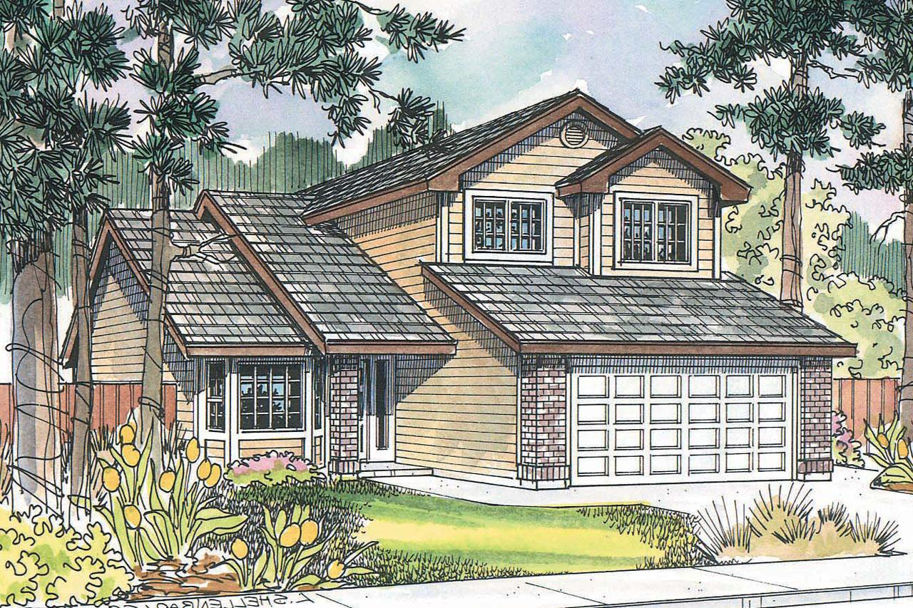 Front Elevation Traditional : Traditional house plans knollwood associated