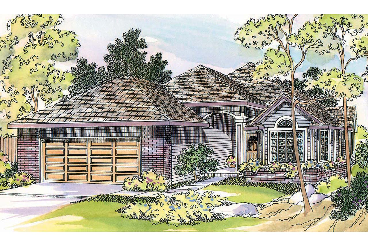 Front Elevation Traditional : Traditional house plans lynden associated designs