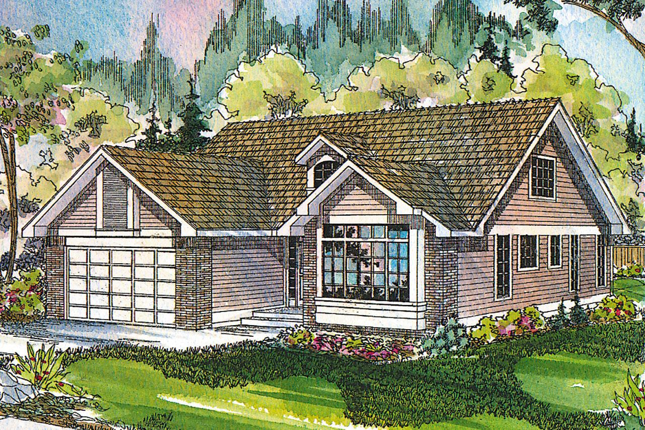 Traditional House Front Elevation : Traditional house plans maderas associated designs