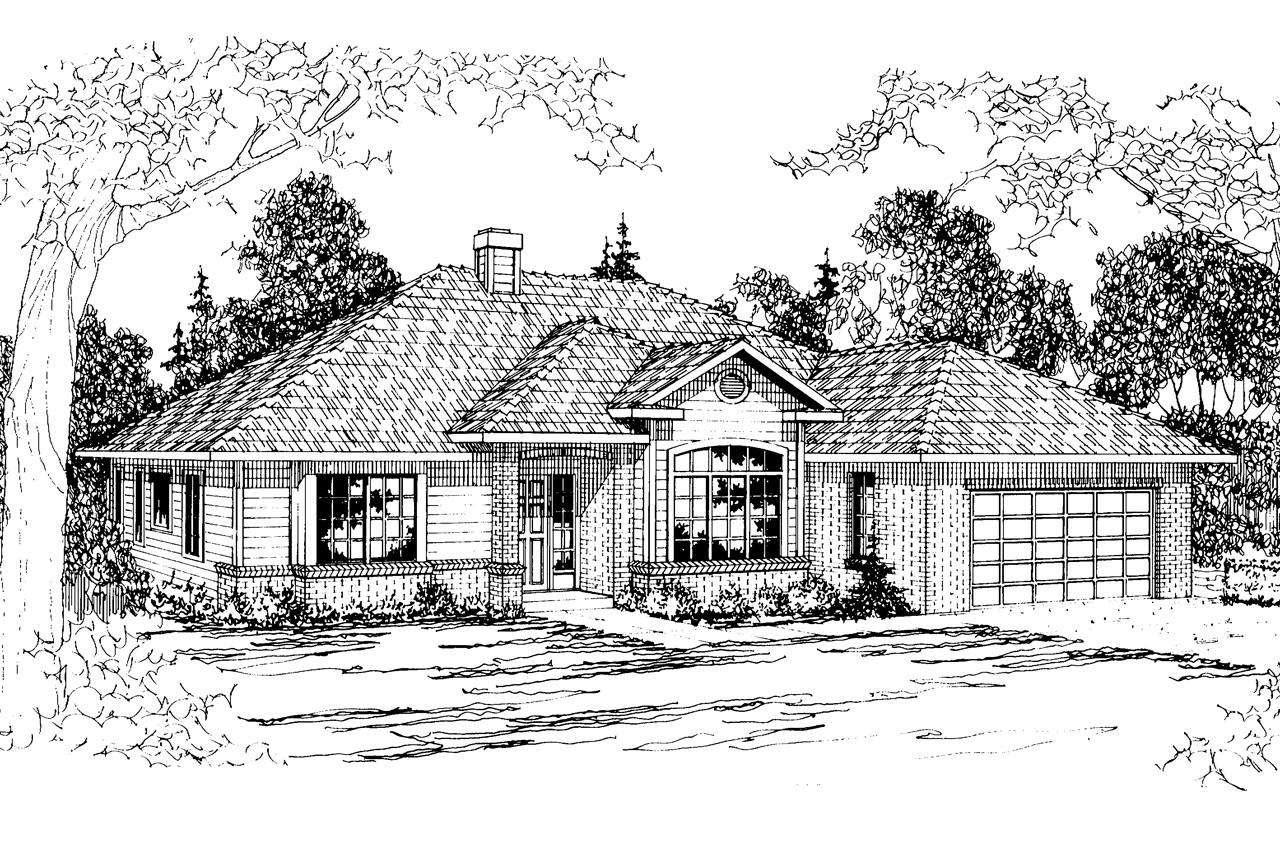 Traditional House Plans Syracuse 30 063 Associated Designs