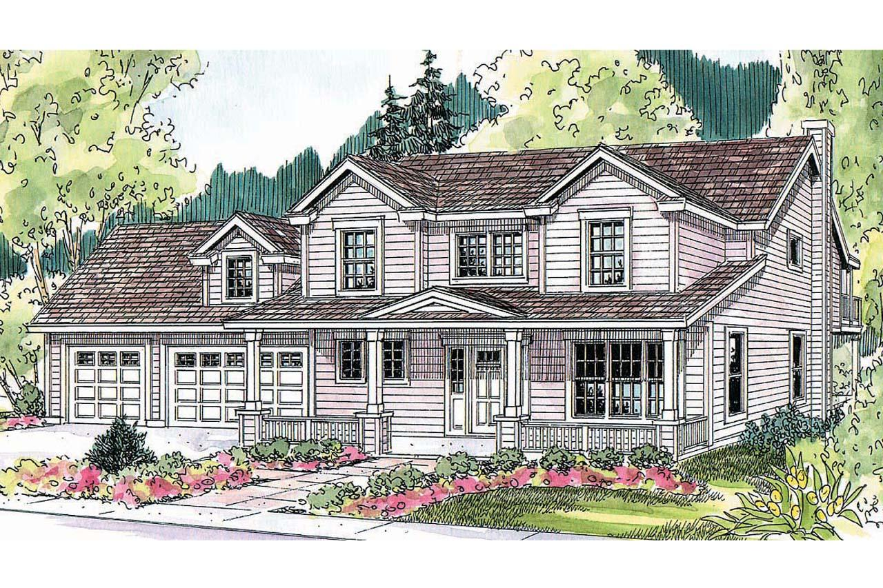 Traditional House Front Elevation : Traditional house plans thornebury associated