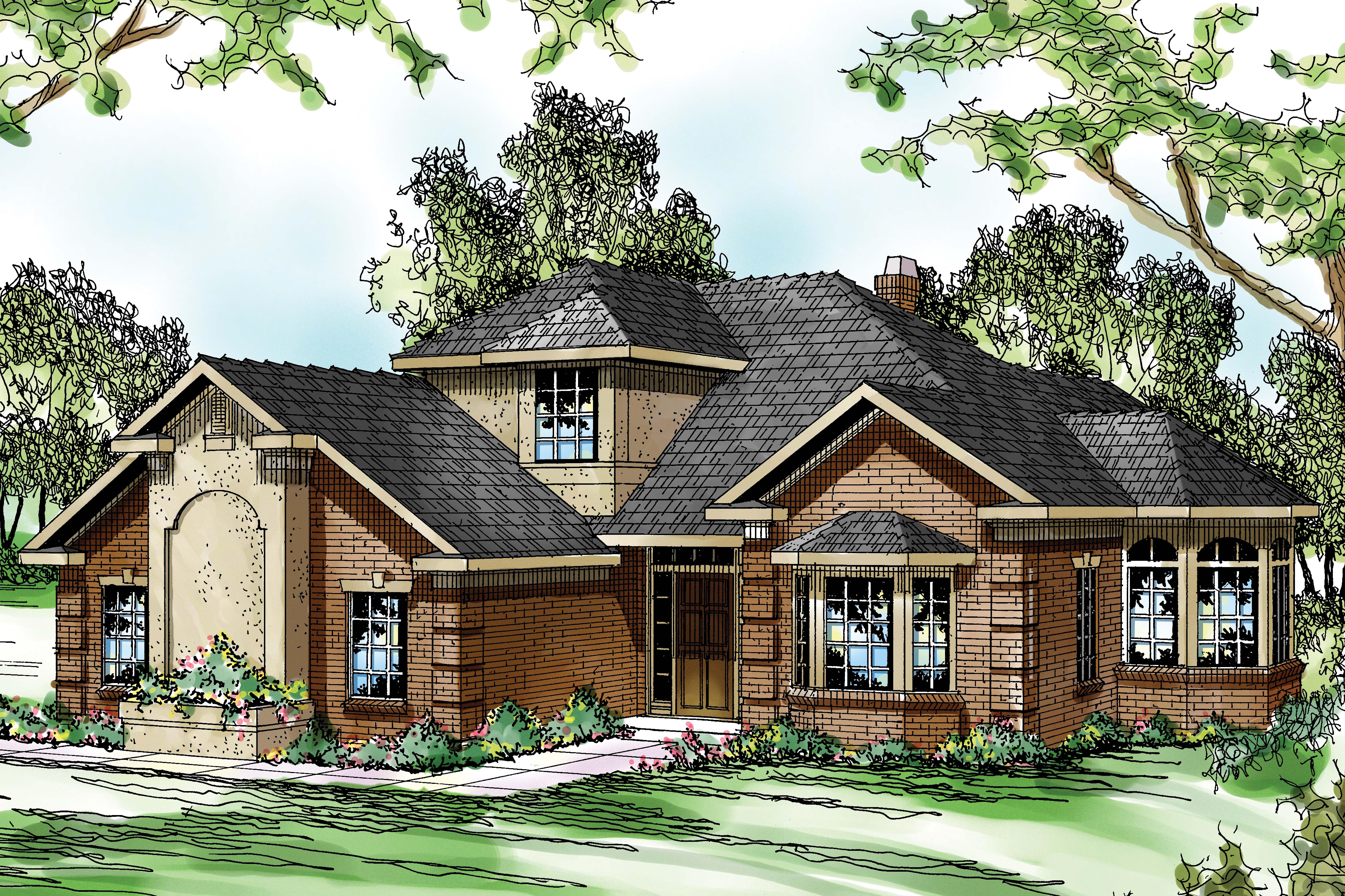 Traditional house plans wichita 10 254 associated designs for Non traditional house plans