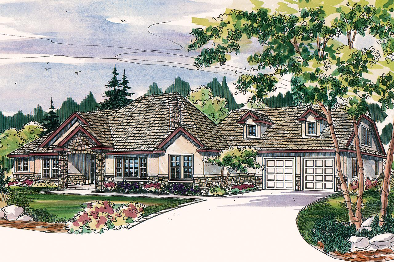 Planning For Comfort Tuscan House | Best Ranch House Plans