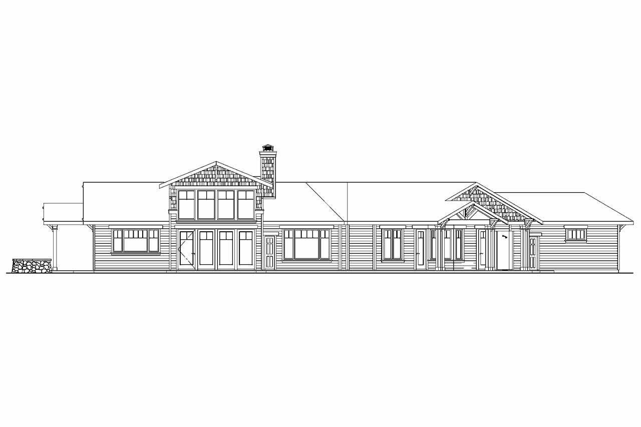 Craftsman House Plans Springwater 30 661 Associated