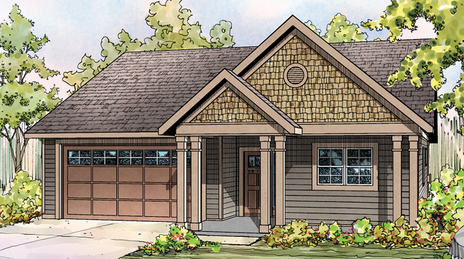 Caspian 30-868 - Cottage Home Plan