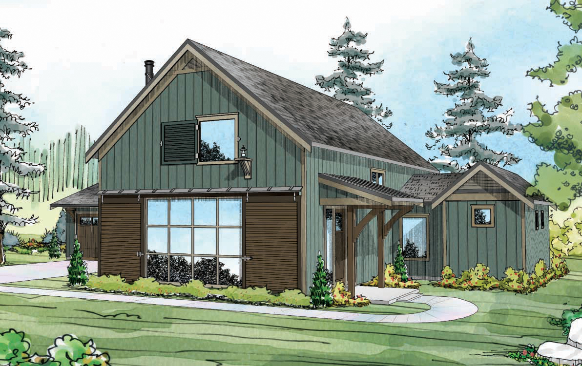 Fairheart 10-600, Ranch House Plan, Contemporary Home Plan