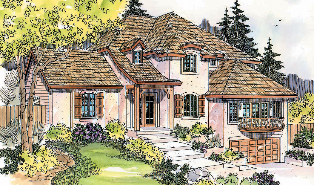 10 simple sloping lot ideas photo house plans 77634 for Sloped lot home designs