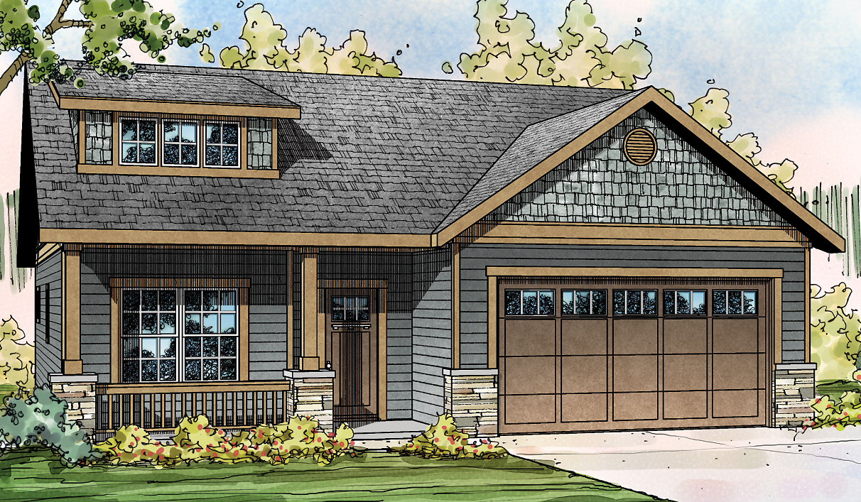 Shasta 30-866 - Craftsman Home Plan